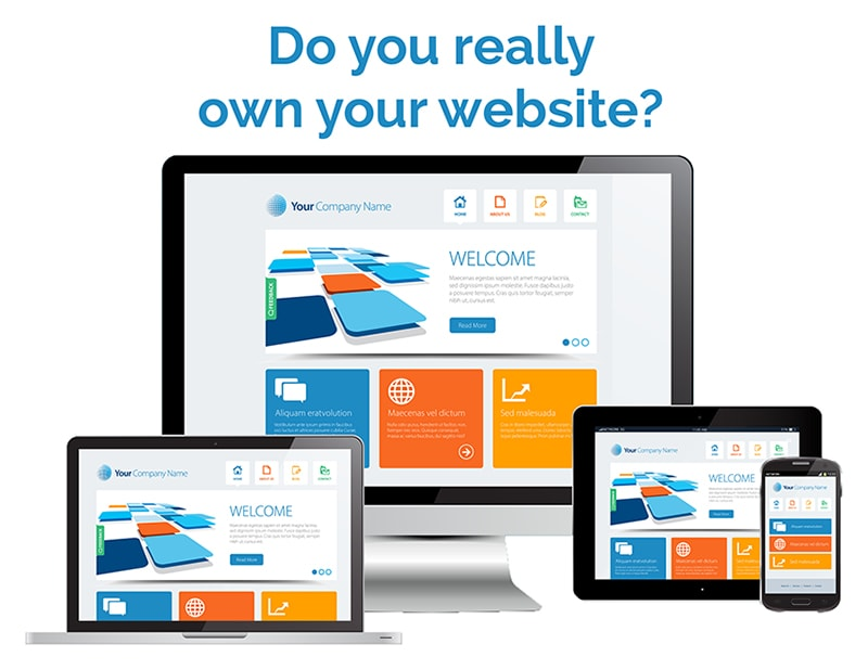 do you own your website